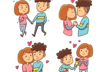 情侣动作设计图
