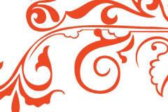 古典花纹矢量素材