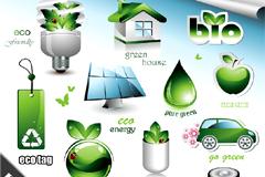 高级立体环保标识图片