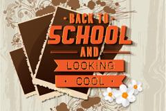 开学季欢迎海报背景