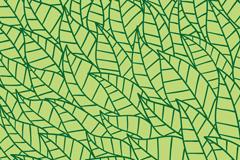 绿色树叶无缝背景图片