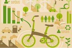 绿色环保信息图