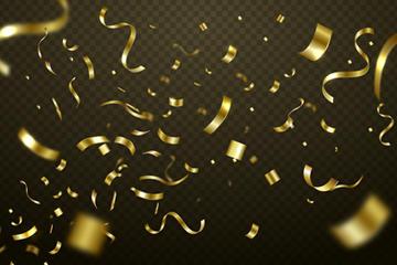 金色质感节日背景矢量素材