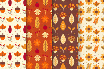 秋天树叶背景图片