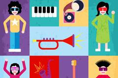 潮流音乐人物图片