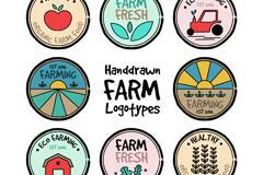 农庄logo设计素材