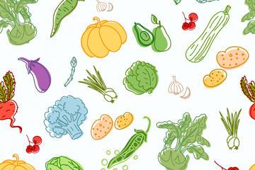 蔬菜水果简笔画图片
