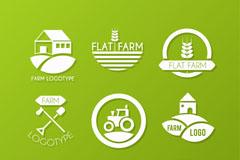 自然农场logo设计