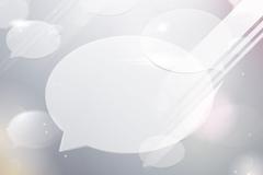 气泡对话框素材
