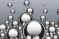 动感气泡背景矢量素材