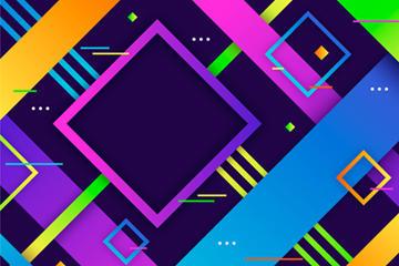 科技质感方框背景图片