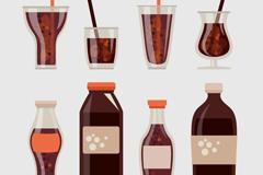 可乐矢量图
