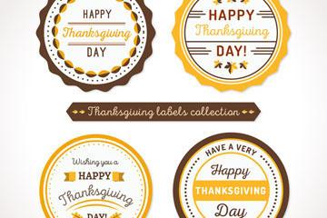 感恩节促销标签设计