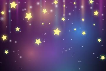 唯美星星背景图