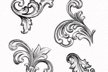 装饰花纹图案