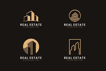 高档房地产logo素材