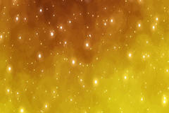 金色星星光晕背景图