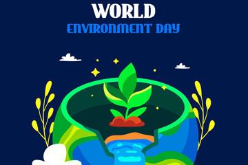 环保公益矢量素材