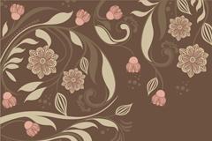 经典大气花卉壁纸