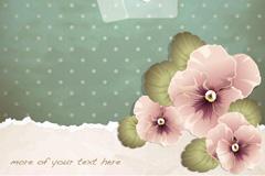 PPT花卉背景图