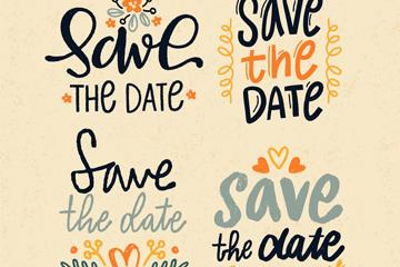 婚礼英文艺术字体图片