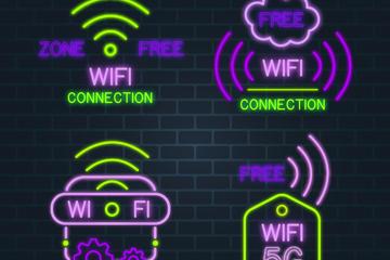 网络WiFi图标
