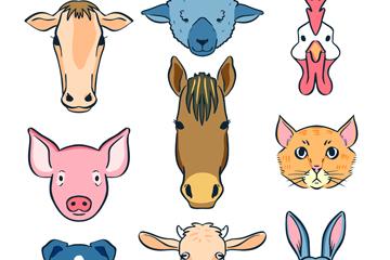 农场动物头像