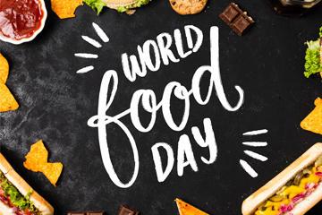 世界粮食日字体设计