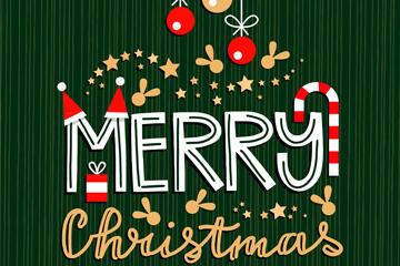 圣诞节快乐英文字体