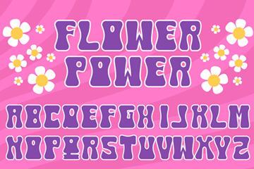 紫色英文字母图片
