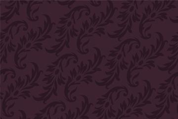 古典花纹无缝背景图
