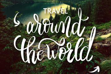 旅行海报图片