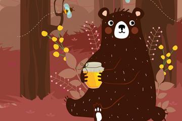 大笨熊出没图片