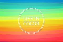 彩虹色背景图