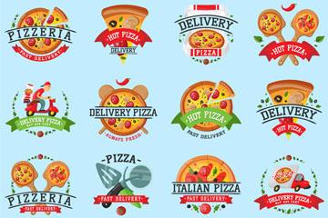 披萨标签图片