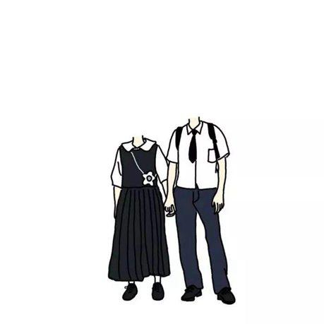 超火爆的情侣抠图素材