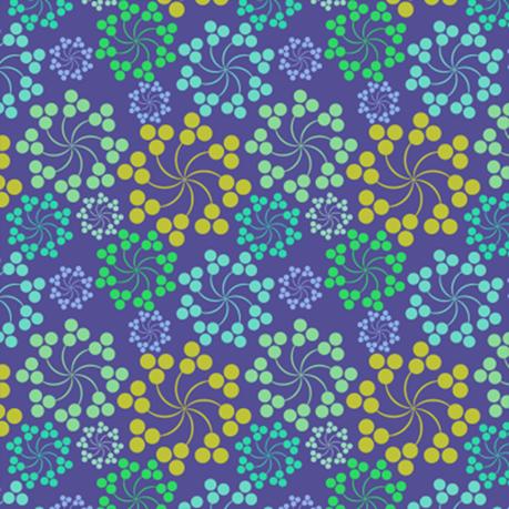 彩色花纹背景素材