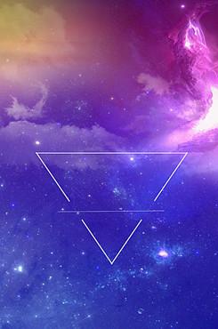 唯美星空背景图