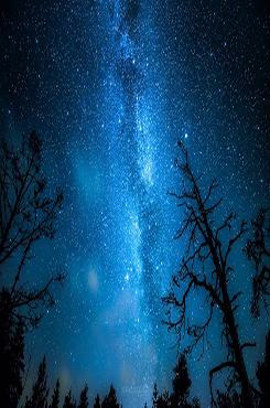 浪漫夜空背景图片