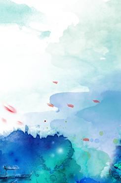 水彩抽象创意背景图
