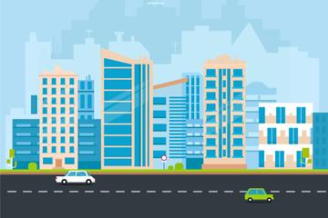 立体城市建筑图片