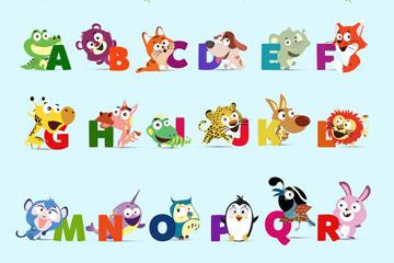 动物字母表图片