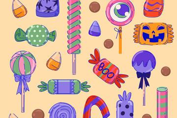 彩绘糖果图片