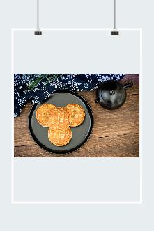 中秋节月饼免抠图