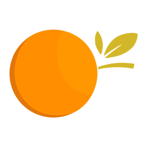 卡通橙子素材