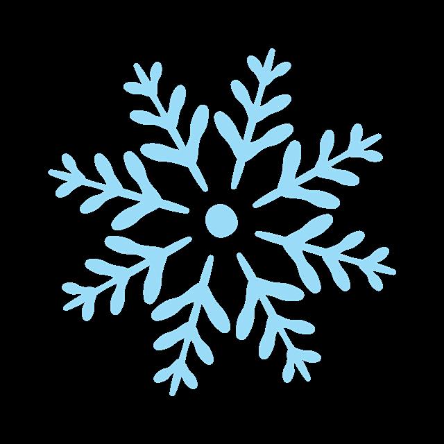 圣诞节雪花装饰素材