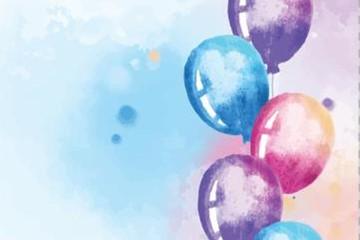 气球背景图