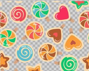 彩色糖果背景图