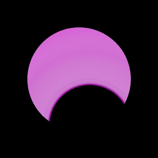圆形渐变图案