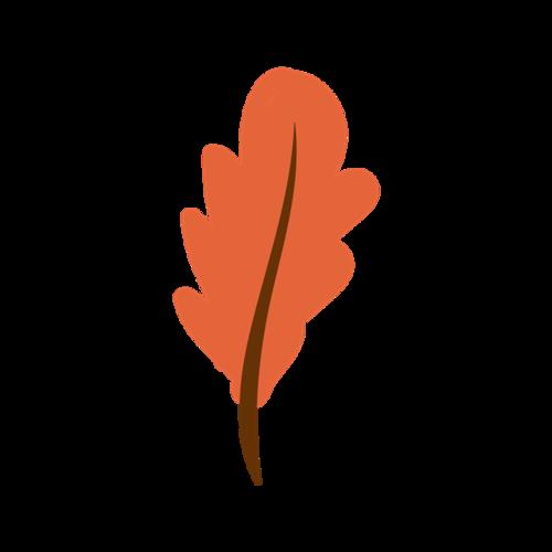 写实树叶矢量图